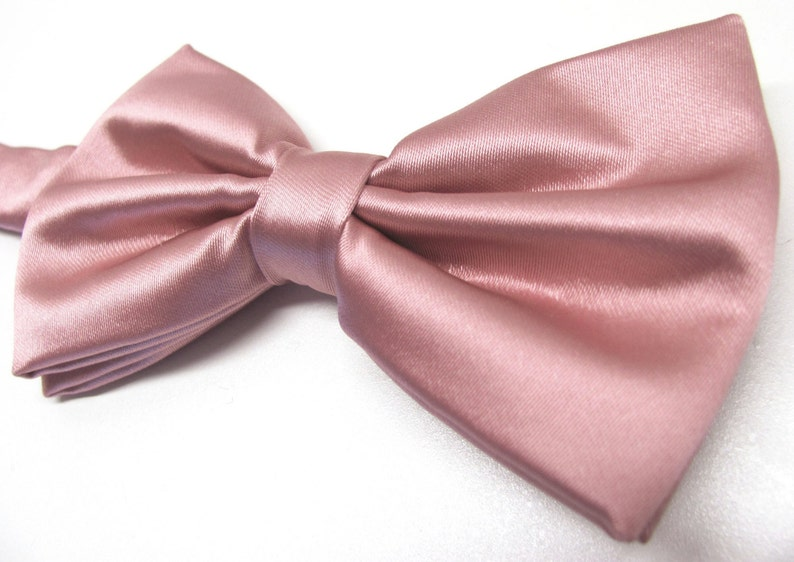 7eb979e5cd7d Mens Bowtie. Dusty Rose Bowties. Dusty Rose Bowtie With | Etsy