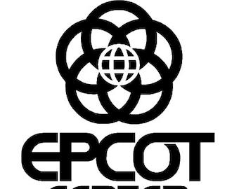 EPCOT Center vinyl decal, sticker - custom made NEW
