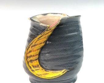 ceramic spiral Vase
