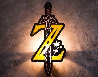 Zelda Breath of the Wild lamp