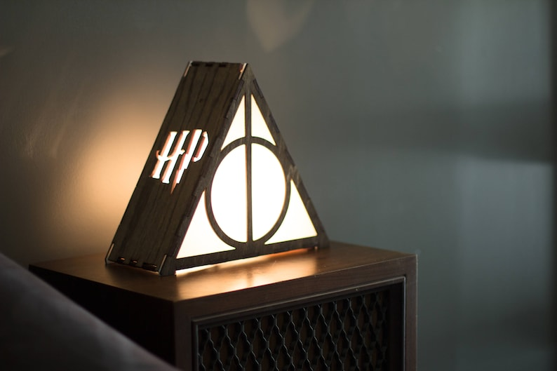 Harry Potter Deathly Hallows Lamp image 0