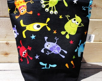 SALE Insulated Lunch Bag - Monster Mash