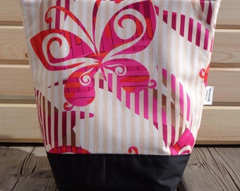 SALE Insulated Lunch Bag by Nana Brown's - Butterfly
