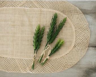 Set of 9 Faux Spike Succulent Stems/3 bundles/Fake succulents/Artificial succulent plant/photo prop/DIY wedding centerpiece
