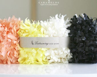 Tissue Garland Fringe Trim Festoon Many colors to choose from