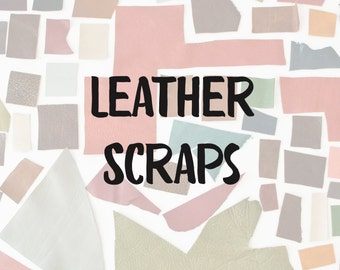 Leather Scraps by the Pound, assorted genuine top grain full grain upholstery leather scraps, leather remnants, free shipping