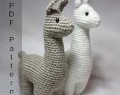 CROCHET PATTERN Llama Amigurumi Plush