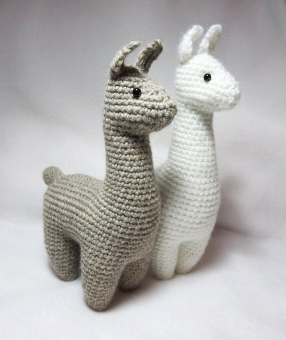 Crochet Pattern Llama Amigurumi Plush Etsy