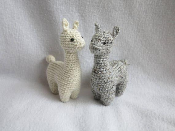 Crochet Pattern Alpaca Amigurumi Plush Etsy