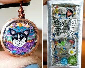Art Jewelry Symposium 2021 Resin Kit, Curious Mondo