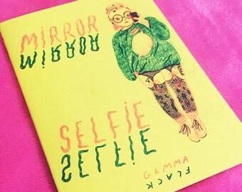 mirror selfie risograph zine