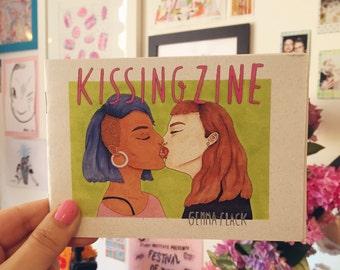 kissing zine