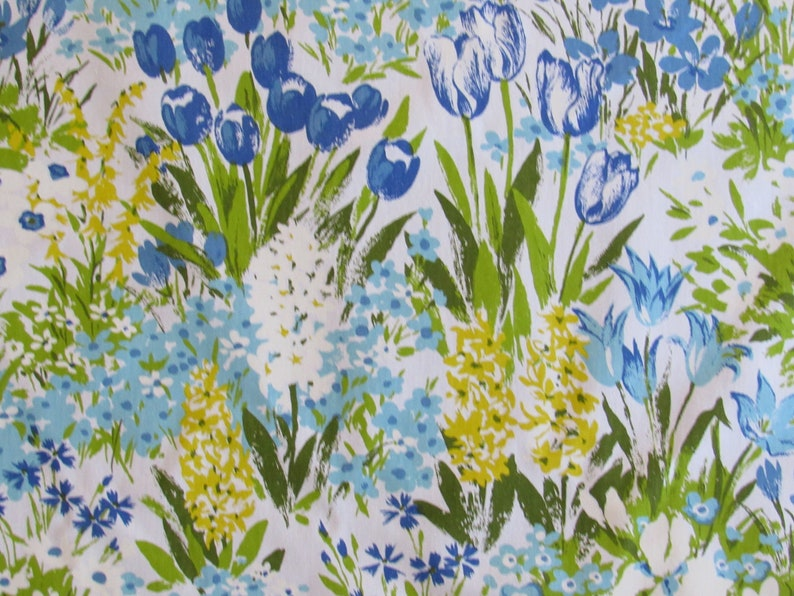 Printed Fabric Panel Make A Cushion Upholstery Craft Lily Flower Fairy