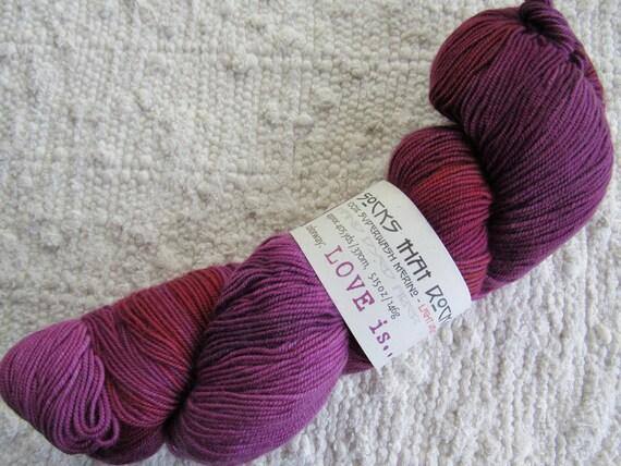 purple sock yarn hand dyed artisan blue moon fiber arts etsy