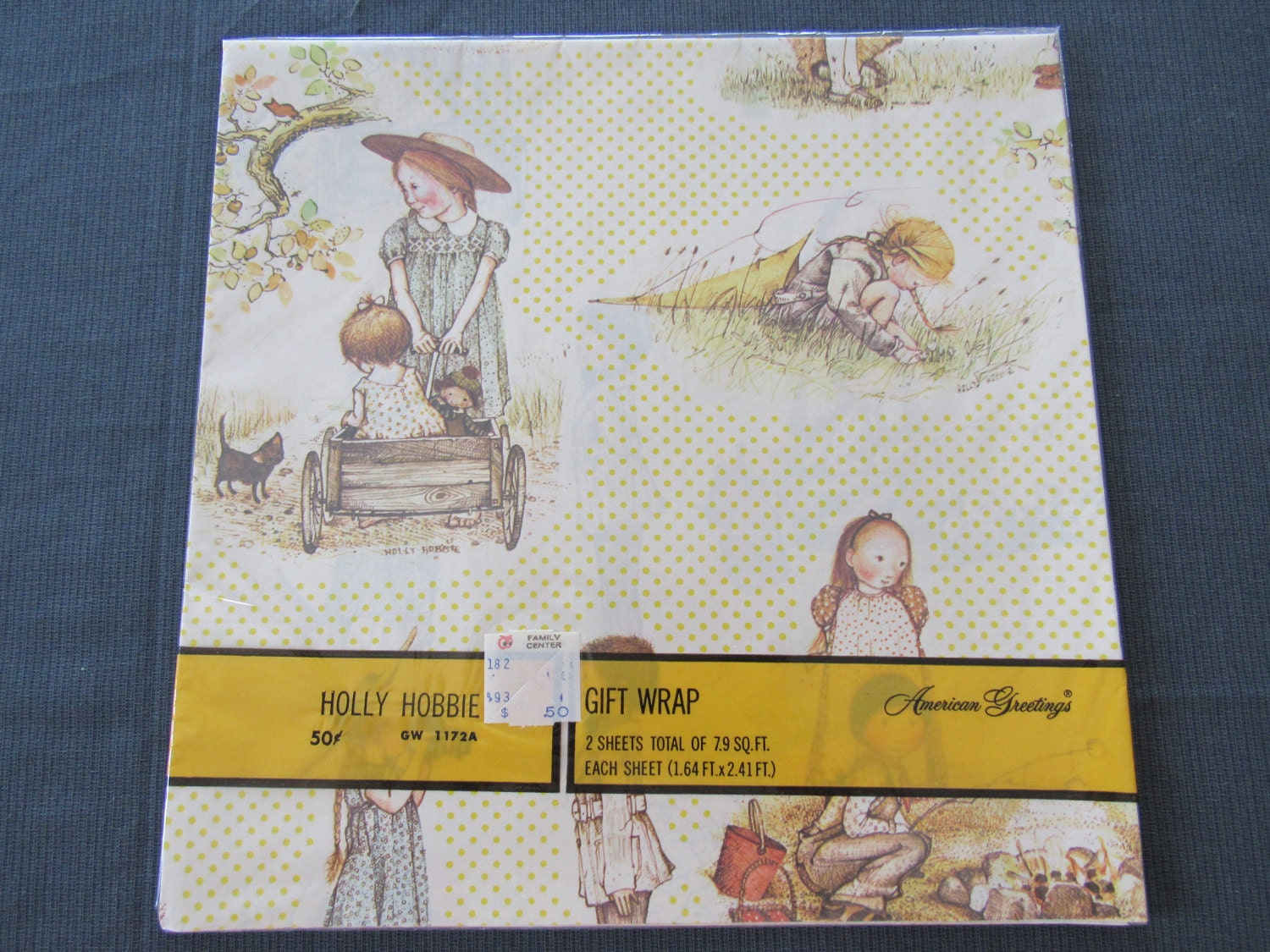 Charming Unused Vintage 1970s American Greetings Holly Hobbie Gift