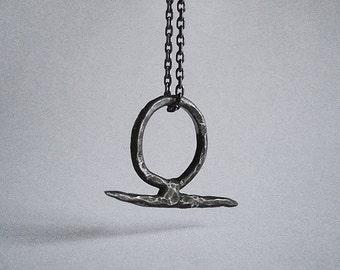 sterling silver BIANCA ringpendant