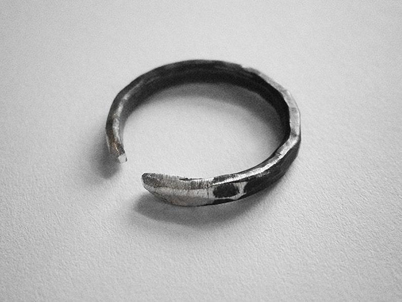 GENEVIÈVE ring  sterling silver  unisex image 0