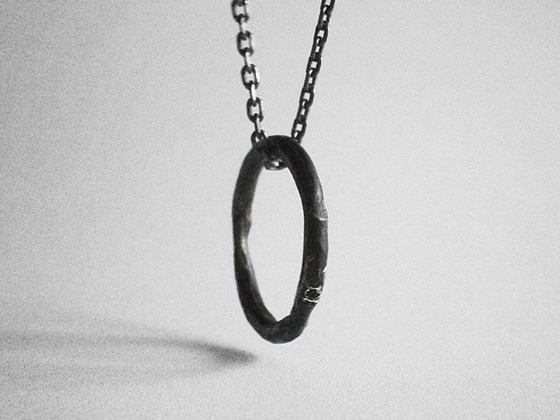 PIERRE ring/pendant  sterling silver  unisex image 0