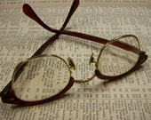 Vintage Eyeglasses 1950s or 1960s - Free Shipping