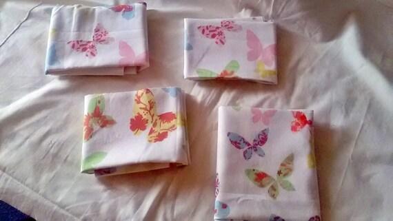 Bundle Fabric Destash - Four Fat Quarters - Butterfly cotton fabric Prestigious Textiles