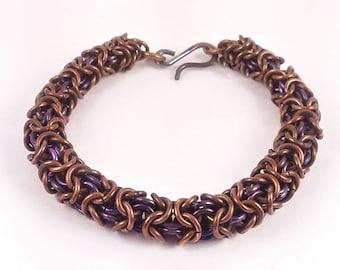 Turkish Roundmaille - chainmaille bracelet