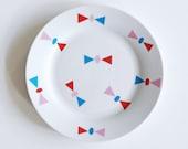 FINAL STOCK SALE! Bows breakfast plate