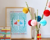 SALE! A3 size Poster The rabbits