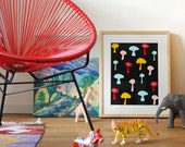 SALE! A3 size Poster Mushrooms