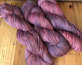 Spooky Old Barn - hand dyed new superwash Merino/nylon sock yarn, 420 yards 100 grams