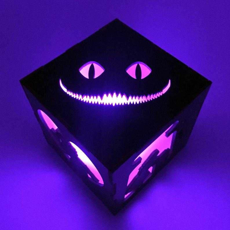 Alice's Adventures in Wonderland  LED Lantern  Cheshire image 0
