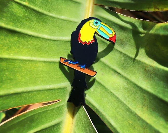 Toucan Enamel Pin
