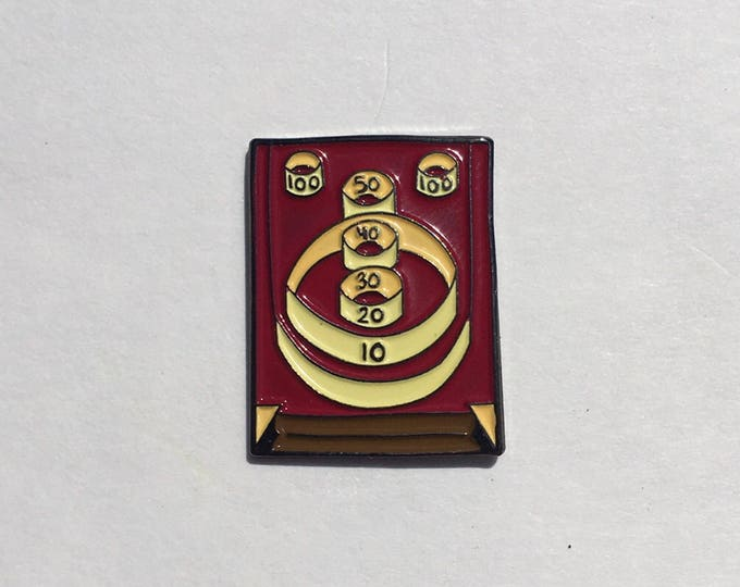 Skee Ball Enamel Pin