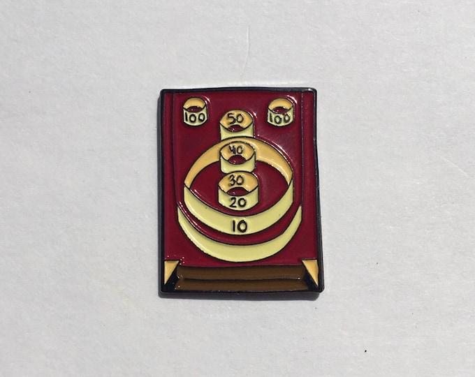 Skee Ball Enamel Pin