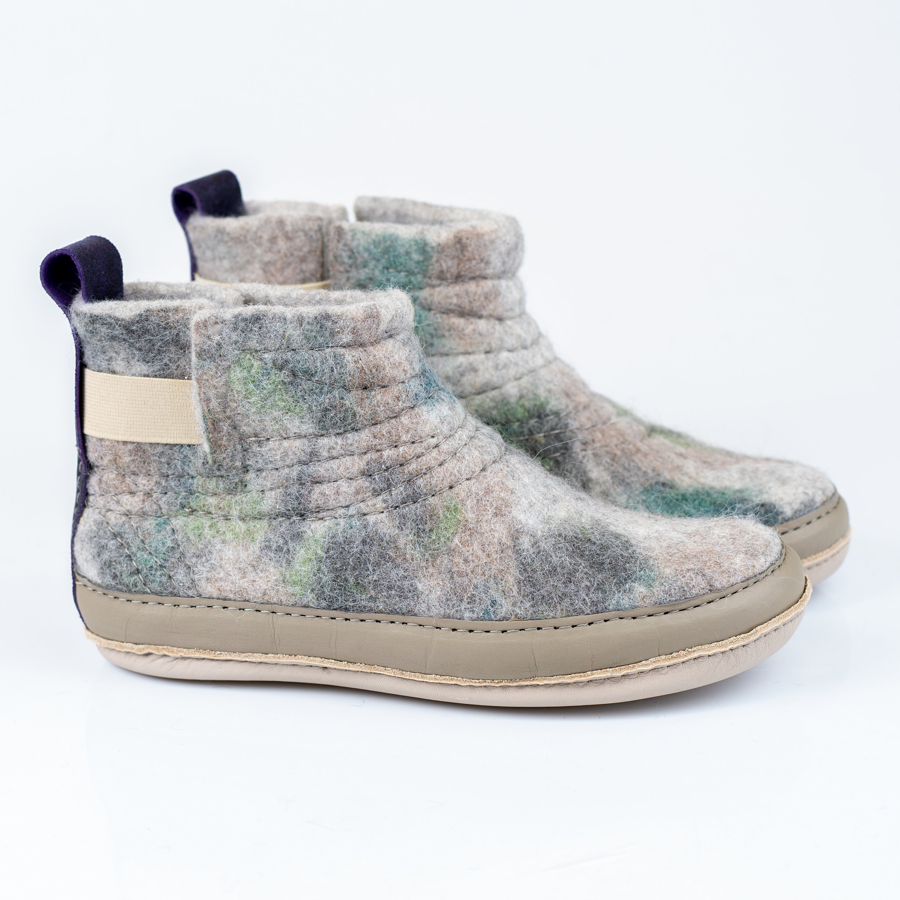 983c284047671 READY TO SHIP womens size 10 wooboot warm wool ankle booties with ...