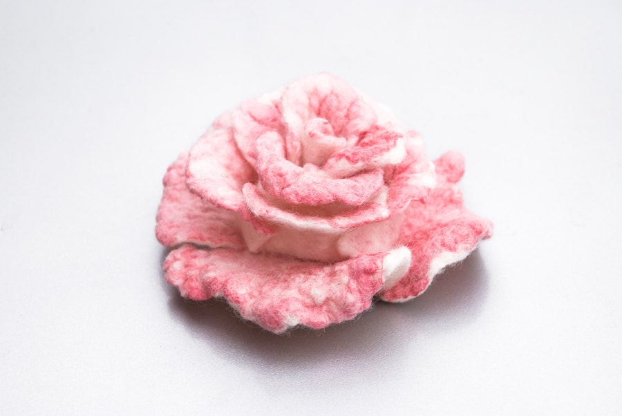 Mothers day gift pink flower brooch from wool and silk pink rose mothers day gift pink flower brooch from wool and silk pink rose pin bridal belt pin wedding bridal sashes pin flower floral accessories mightylinksfo