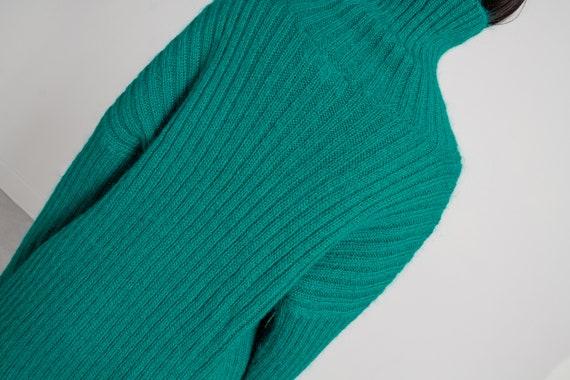 MOHAIR TURTLENECK SWEATER Vintage Jumper Pullover… - image 8