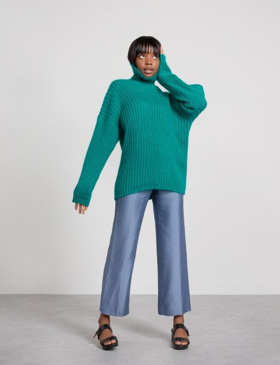 MOHAIR TURTLENECK SWEATER Vintage Jumper Pullover… - image 7