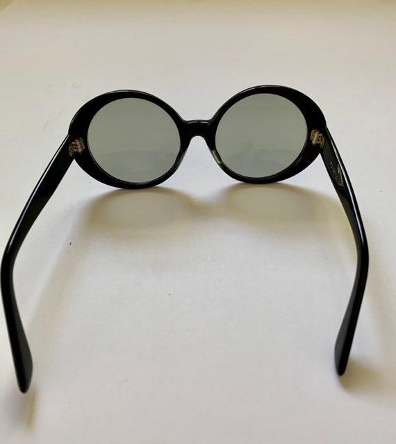 Vintage sunglasses/black oval sunglasses/ Japan s… - image 4