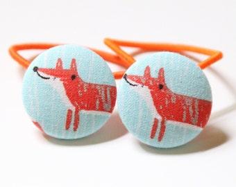 Cute Fox- PONYTAIL HOLDERS