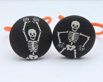 Halloween...... Skeleton Ponytail Holders
