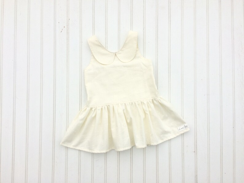 27621fb5456f3 Girls Peter Pan Collar Top, Girls Peplum Top, Ivory Peplum Top, Ivory Girls  Top, Ivory Collar Dress, Girls Collar Dress, Peter Pan Collar