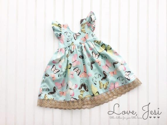 Toddler Girls Dress Little Girls Dress Baby Girls Dress Etsy