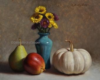 Autumn Still Life, Reproduction Fine Art Print
