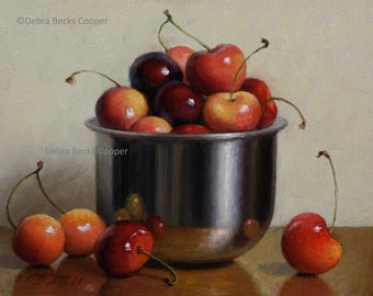 Cherry Jubilee, Reproduction Fine Art Print
