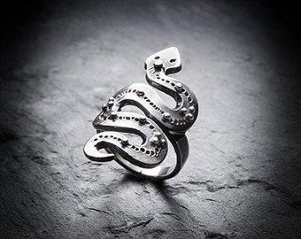 AMUNET snake ring
