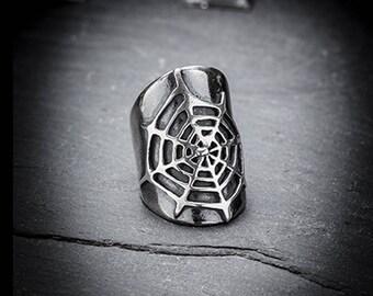 ENTRAP spider web ring
