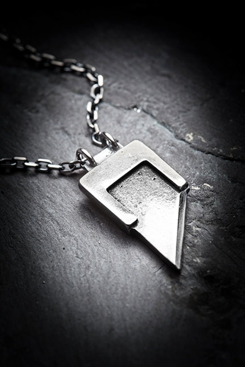 HEADS WILL ROLL  guillotine blade necklace image 0