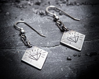 sale- SHINE BRIGHT diamond earrings