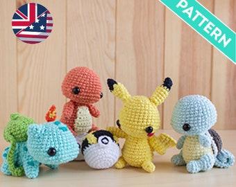 Pokemon Crochet Patterns | 270x340