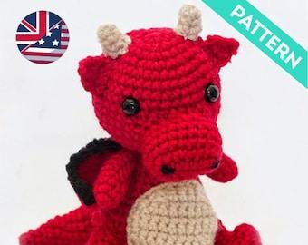 20 Amigurumi Dragon Free Crochet Patterns | Amigurumis animales ... | 270x340